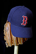Sports Memorabilia Posters - Red Sox Nation Poster by John Van Decker