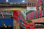 Mlb Metal Prints - Red Sox Nation Metal Print by Juergen Roth