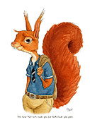 Blair Bailie - Red Squirrel