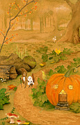 Togetherness Originals - Red Squirrel Goes Trick Or Treating by Victoria Arico