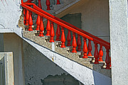 Karl Gebhardt - red stairs- Israel