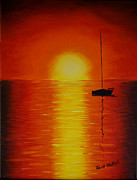 Tina A Stoffel - Red Sunset 1