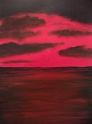 Michelle Treanor - Red Sunset