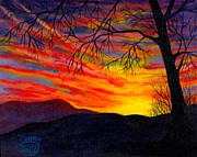 Nancy Cupp - Red Sunset