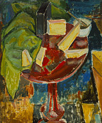 Alfred Henry Maurer - Red Table Top Still Life