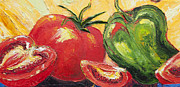 Paris Wyatt Llanso - Red Tomato and Green...