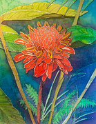 Kelly     ZumBerge - Red Torch Ginger
