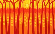 John  Nolan - Red Trees