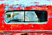 Aperture Photos - Red Truck by Stacy Edwards