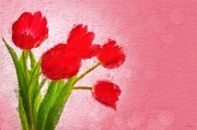Sandy MacGowan - Red Tulips #2