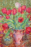 Barbara Timberman - Red Tulips