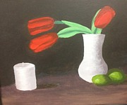 Michelle Treanor - Red Tulips