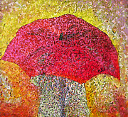 Claire Bull - Red Umbrella
