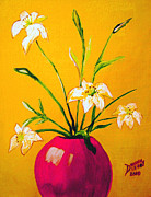 True Vine Gallery-- Donna E Dixon - Red Vase