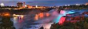 Adam Jewell - Red White And Blue Niagara Panorama