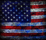 Flag Of Usa Posters - Red White And Blues Poster by John Stephens