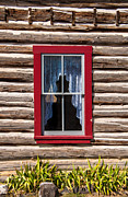 Gary Whitton - Red Window Log Cabin -...