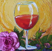 Paris Wyatt Llanso - Red Wine and Pink Rose