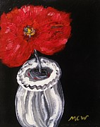 Mary Carol Williams - Red with White Vase