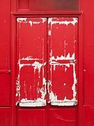 Bernard Jaubert - Red wooden door