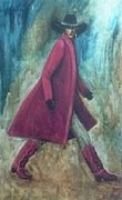 Cowboyboots Paintings - Redcoat by Rhonda Cacy