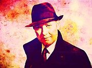 T.v. Mixed Media - Reddington by Ellot Halt