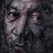 Eyes Metal Prints - Redemption Man Metal Print by Paul Lovering