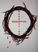Redeemer Mixed Media - Redemption by Steven Overton