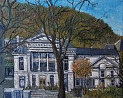 Montreal Paintings - Redpath Museum by Reb Frost