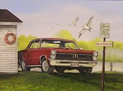 Chevelle Paintings - Redx by Whitey Thompson