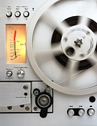 Fidelity Metal Prints - Reel to Reel Metal Print by Jim Hughes