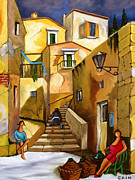 Architecture Paintings - Refill The Wine Prego by William Cain