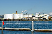 Boiler Photos - Refineries of the Port of Tacoma by  Terrie Heslop