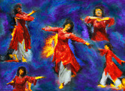 Dancers Artwork - Refiners Fire by Constance Woods