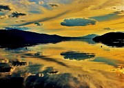 Sandpoint Prints - Reflect Print by Benjamin Yeager