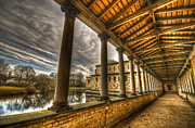 Antique Digital Art Prints - Reflect view  Print by Nathan Wright