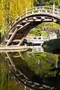 Molly Heng Metal Prints - Reflected Bridge Metal Print by Molly Heng