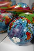 Reflected Globe Print by Amy Cicconi