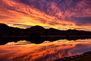 Reflected Sunrise Print by Robert Bales