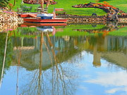 Bing Mixed Media - Reflecting Colours - Spring Day by Photography Moments - Sandi