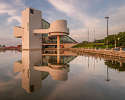 Fame Prints - Reflecting on the Rock Hall Print by At Lands End Photography