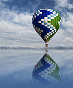 Balloon Festival Photos - Reflection by Juli Scalzi