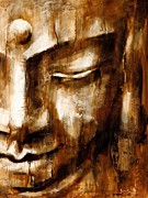 Buddhism Paintings - Reflection by Juul