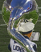 Marching Band Photos - Reflection of Beaver Stadium by Gallery Three