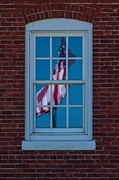 Patrick Shupert Metal Prints - Reflection of Freedom Metal Print by Patrick Shupert