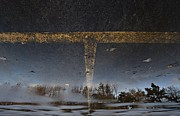 Toronto Fine Art Framed Prints - Reflection on Concrete with Yellow Lines No. 3 Framed Print by Patricia Nabon
