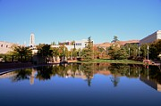 Kathleen Prints - Reflection Pond Print by Kathleen Struckle