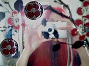 Camera Mixed Media - Reflection Pop Art by Pepita Selles