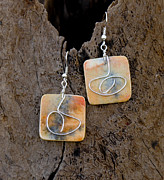 Watercolor  Jewelry - Reflection by Sandra Schultz