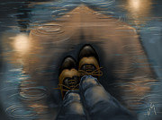 Autumn Water Prints - Reflection Print by Veronica Minozzi
